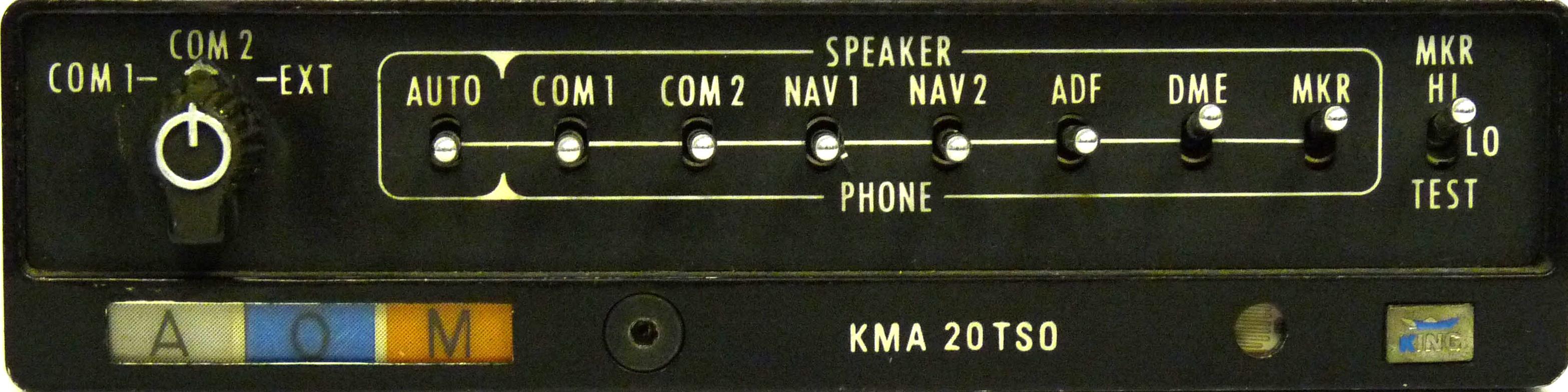 building a physical kma20 panel rh medspx fr KMA 20 TSO Manual KMA 26 Audio Panel Wiring